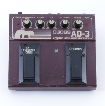 Boss AD-3 Acoustic Instrument Processor Guitar Effects Pedal P-04837