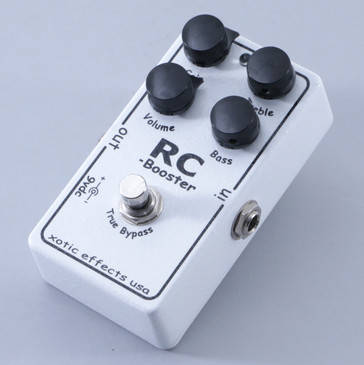 Xotic Effects RC Booster Overdrive Guitar Effects Pedal P-04831