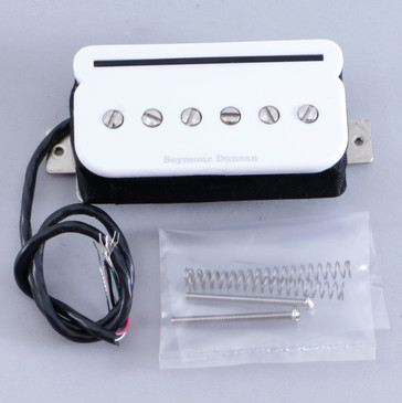 Open Box Seymour Duncan SHPR-1B P-Rails Bridge Humbucker Guitar Pickup White