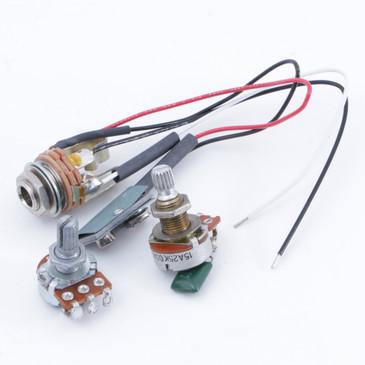 EMG 25K Potentiometers & Input Jack OS-7880
