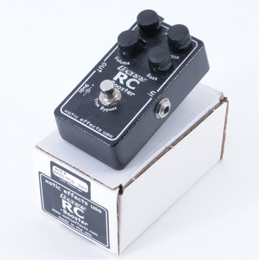 Xotic Effects Bass RC Booster Boost Guitar Effects Pedal P-04945