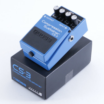 Boss CS-3 Compression Sustainer Guitar Effects Pedal w/ Box P-04987