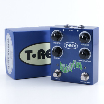 T-Rex Whirly Verb Reverb Guitar Effects Pedal w/ Box P-05163