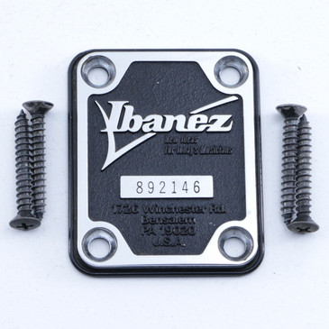 Ibanez Raised Letter Neck Plate OS-7915