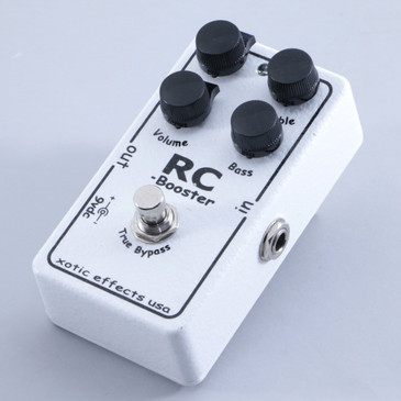 Xotic Effects RC Booster Volume Boost Guitar Effects Pedal P-05207