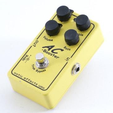 Xotic Effects AC Booster Overdrive Guitar Effects Pedal P-05198