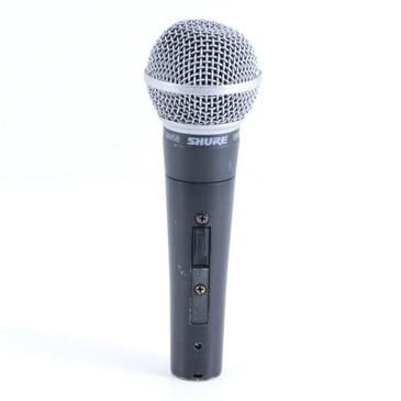 Shure SM58S Dynamic Cardioid Microphone MC-2546