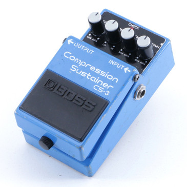 Boss CS-3 Compression Sustainer Guitar Effects Pedal P-05371