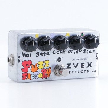 ZVEX Fuzz Factory Guitar Effects Pedal P-05379