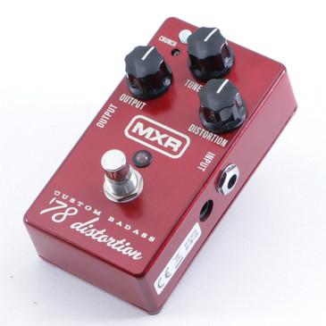 MXR Custom Badass '78 Distortion Guitar Effects Pedal P-05376