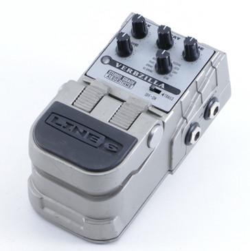 Line 6 Verbzilla Reverb Guitar Effects Pedal P-05411