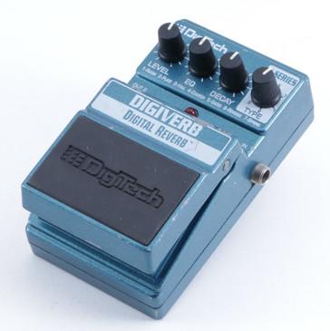 Digitech Digiverb Reverb Guitar Effects Pedal P-05414