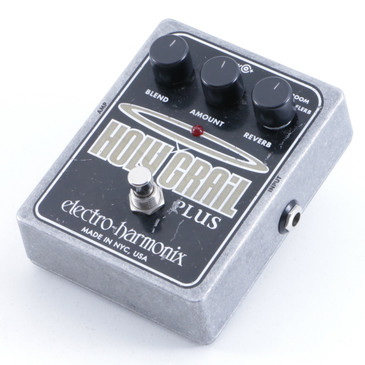 Electro-Harmonix Holy Grail Plus Reverb Guitar Effects Pedal P-05421