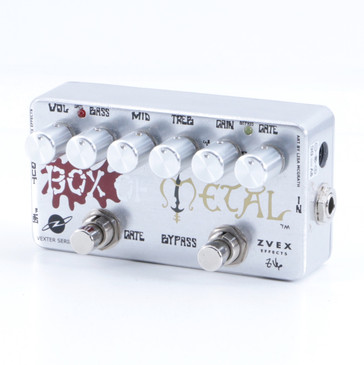 ZVEX Box of Metal Distortion Guitar Effects Pedal P-05460