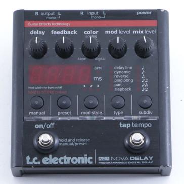 TC Electronic ND-1 Nova Delay Guitar Effects Pedal P-05516