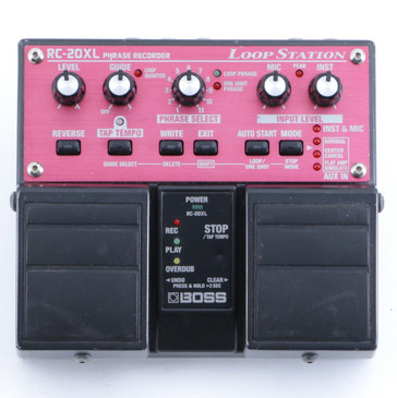 Boss RC-20XL Loop Station Looper Guitar Effects Pedal P-05517