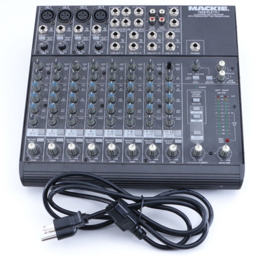 Mackie 1202-VLZ Pro 12-Channel Mixing Board OS-7993