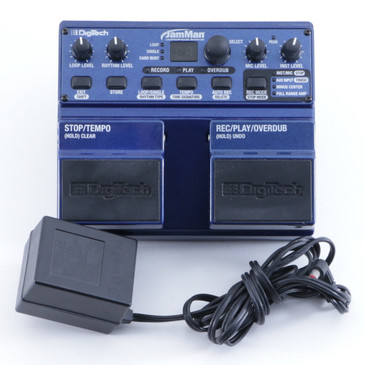 Digitech JamMan Looper Guitar Effects Pedal & Power Supply P-05551