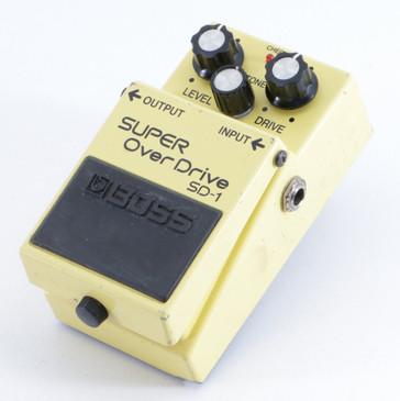 Boss SD-1 Super OverDrive Guitar Effects Pedal P-05578
