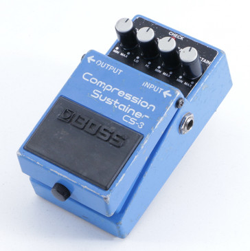 Boss CS-3 Compression Sustainer Guitar Effects Pedal P-05625