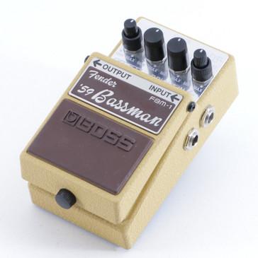 Boss FBM-1 Fender '59 Bassman Overdrive Guitar Effects Pedal P-05641
