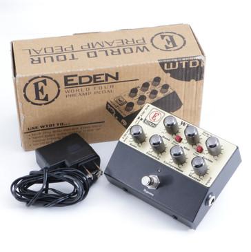 Eden WTDI World Tour DI Box PreAmp Guitar Effects Pedal w/ Box P-05691