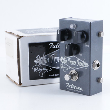 Fulltone Robin Trower Overdrive Guitar Effects Pedal w/ Box P-05678