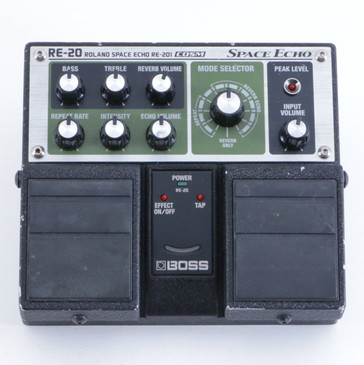 Boss RE-20 Space Echo Delay Guitar Effects Pedal P-05694