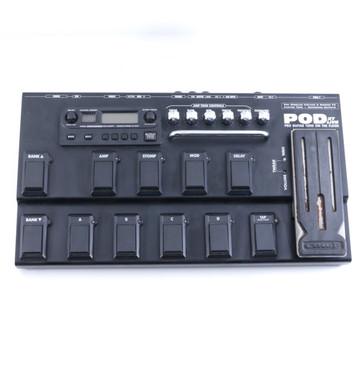 Line 6 Pod XT Live  Guitar Multi-Effects Pedal *No Power Supply* P-05712