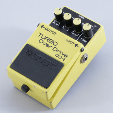 Boss OD-2 Turbo Overdrive Guitar Effects Pedal P-05719