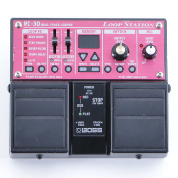 Boss RC-30 Loop Station Looper Guitar Effects Pedal P-05744