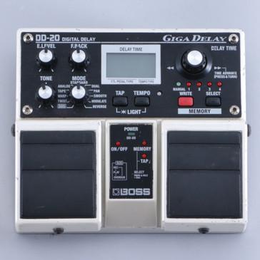 Boss DD-20 Giga Delay Guitar Effects Pedal P-05745