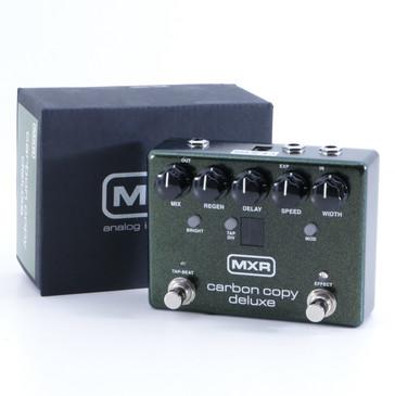 MXR M292 Carbon Copy Deluxe Delay Guitar Effects Pedal w/ Box P-05741