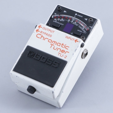 Boss TU-2 Chromatic Tuner Guitar Effects Pedal P-05755