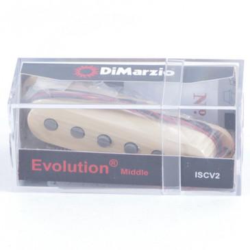 DiMarzio ISCV2 Evolution Steve Vai Middle Single Coil Guitar Pickup Cream