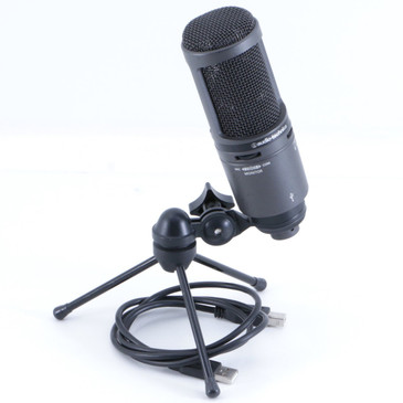 Audio-Technica AT2020USB+ Condenser Cardioid Microphone MC-2736