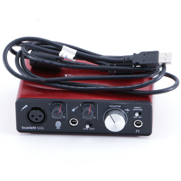 Focusrite Scarlett Solo Recording Interface OS-8062