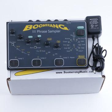 Boomerang 3 Phrase Sampler Looper Guitar Effects Pedal P-05809