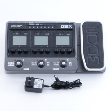 Zoom G3X Guitar Multi-Effects Pedal & Power Supply P-05829