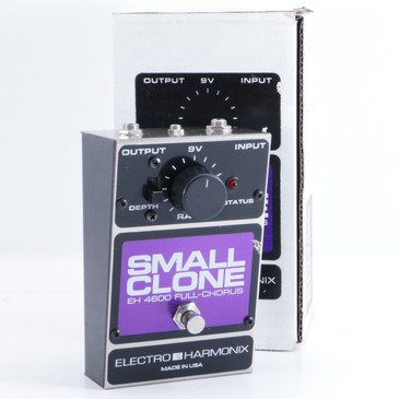 Electro-Harmonix EH4600 Small Clone  Phaser Guitar Effects Pedal P-05826