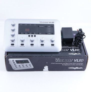 Digitech Vocalist VL3D Vocal Multi-Effects Unit & Power Supply P-05844