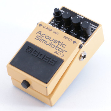 Boss AC-3 Acoustic Simulator Equalizer Guitar Effects Pedal P-05833