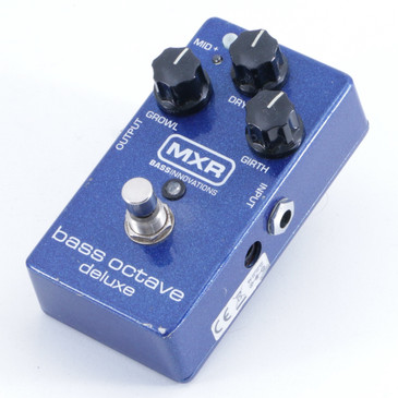 MXR M288 Bass Octave Deluxe Octaver Guitar Effects Pedal P-05855