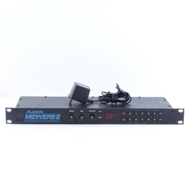 Alesis Midiverb II Rack Effects Unit & Power Supply P-05875