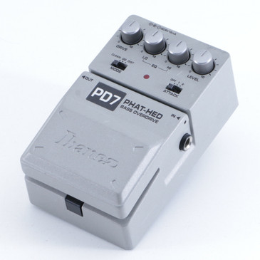 Ibanez PD7 Phat-Hed Overdrive Bass Effects Pedal P-05857