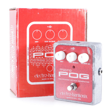 Electro-Harmonix Micro Pog Octaver Guitar Effects Pedal P-05871