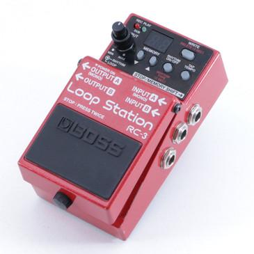 Boss RC-3 Loop Station Looper Guitar Effects Pedal P-05847