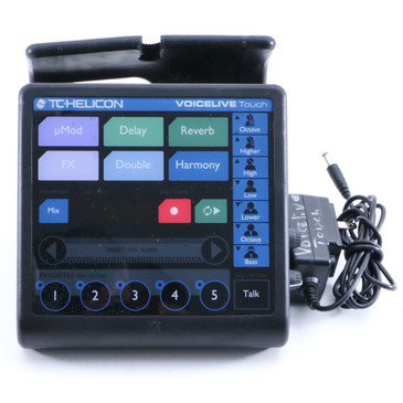 TC Helicon Voicelive Touch Vocal Multi-Effects Unit & Power Supply P-05893