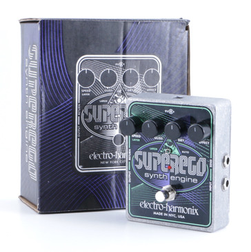 Electro-Harmonix Superego Synth Engine Guitar Effects Pedal w/ Box P-05936