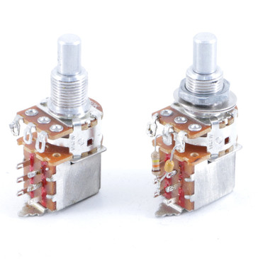 (2) Alpha 250K Push / Pull Potentiometers OS-8127
